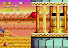 Sonic and Knuckles Megadrive 121