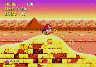 Sonic and Knuckles Megadrive 122