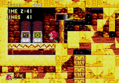 Sonic and Knuckles Megadrive 131