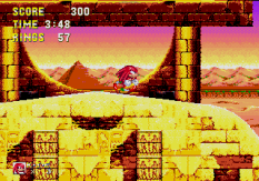 Sonic and Knuckles Megadrive 132