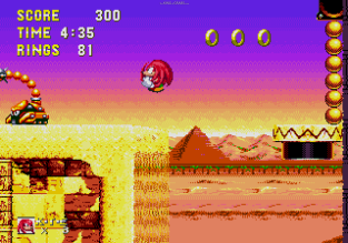 Sonic and Knuckles Megadrive 141