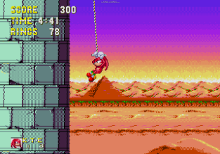 Sonic and Knuckles Megadrive 144