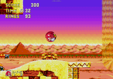 Sonic and Knuckles Megadrive 153