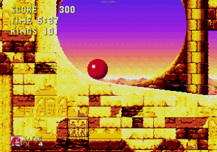 Sonic and Knuckles Megadrive 155