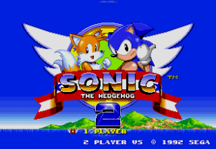 Sonic the Hedgehog 2 Megadrive 001