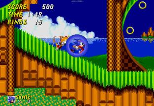 Sonic the Hedgehog 2 Megadrive 009