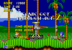 Sonic the Hedgehog 2 Megadrive 022