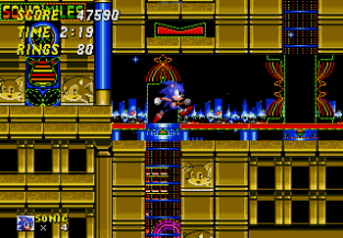 Sonic the Hedgehog 2 Megadrive 100