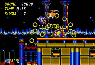 Sonic the Hedgehog 2 Megadrive 108
