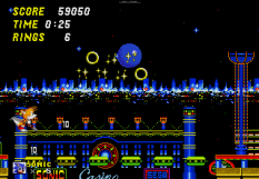 Sonic the Hedgehog 2 Megadrive 109