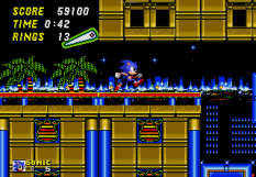 Sonic the Hedgehog 2 Megadrive 110