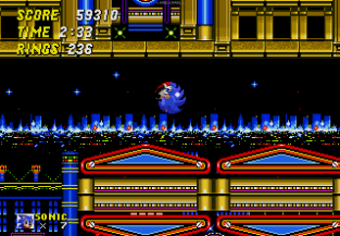 Sonic the Hedgehog 2 Megadrive 122