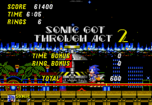 Sonic the Hedgehog 2 Megadrive 130