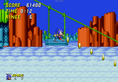 Sonic the Hedgehog 2 Megadrive 132