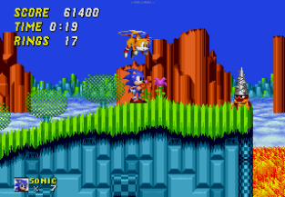 Sonic the Hedgehog 2 Megadrive 133