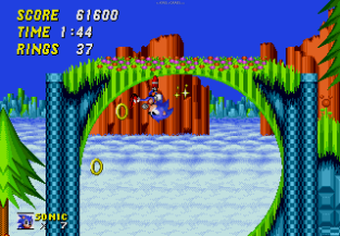 Sonic the Hedgehog 2 Megadrive 141