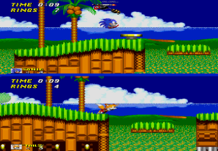 Sonic the Hedgehog 2 Megadrive 155