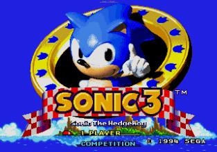 Sonic the Hedgehog 3 Megadrive 001