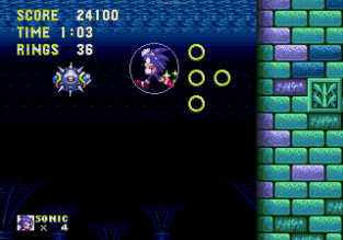 Sonic the Hedgehog 3 Megadrive 122