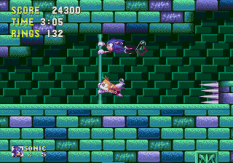 Sonic the Hedgehog 3 Megadrive 153