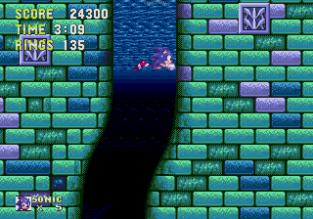 Sonic the Hedgehog 3 Megadrive 155