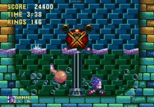 Sonic the Hedgehog 3 Megadrive 163