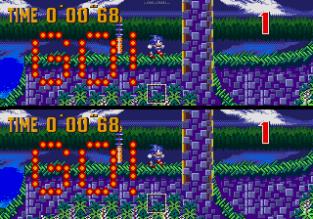 Sonic the Hedgehog 3 Megadrive 166