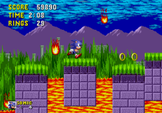 Sonic the Hedgehog Megadrive 087