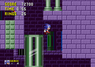 Sonic the Hedgehog Megadrive 108