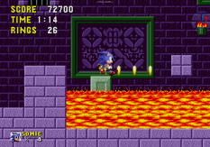 Sonic the Hedgehog Megadrive 110