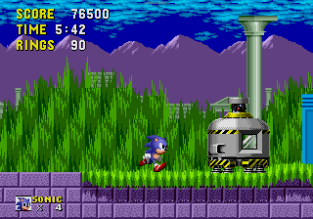 Sonic the Hedgehog Megadrive 130