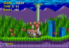 Sonic the Hedgehog Megadrive 131