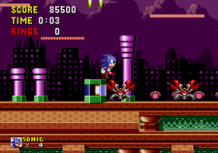 Sonic the Hedgehog Megadrive 133