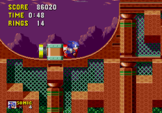 Sonic the Hedgehog Megadrive 142