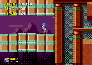 Sonic the Hedgehog Megadrive 144