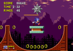 Sonic the Hedgehog Megadrive 154