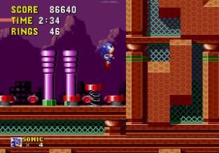 Sonic the Hedgehog Megadrive 155