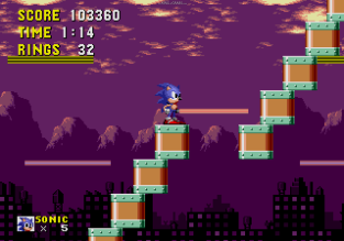 Sonic the Hedgehog Megadrive 174