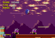 Sonic the Hedgehog Megadrive 175