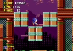 Sonic the Hedgehog Megadrive 176