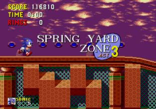 Sonic the Hedgehog Megadrive 188