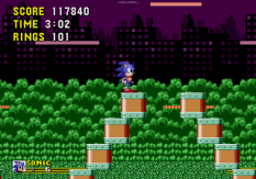 Sonic the Hedgehog Megadrive 205