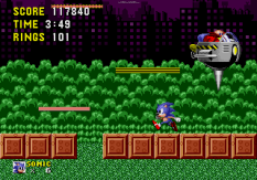 Sonic the Hedgehog Megadrive 206