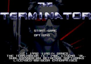 The Terminator Megadrive 001