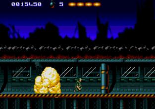 The Terminator Megadrive 009