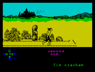 Tir Na Nog ZX Spectrum 012