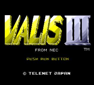 Valis 3 PC Engine 01