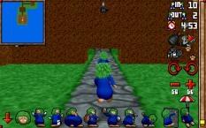 3D Lemmings PC DOS 16