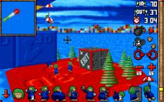 3D Lemmings PC DOS 25