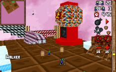 3D Lemmings PC DOS 32